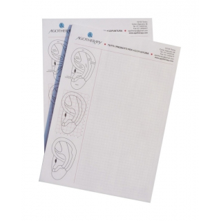 3 notebooks with squares A4 format