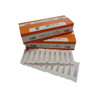 Mesotherapy needles 27G x 12 mm