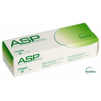 Ear acupuncture needles ASP Classic 80